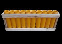 Batterie de mortiers 50 mm - Droit (10 pièces)